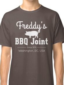 Freddy's BBQ Joint (White) Classic T-Shirt