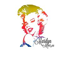 Marilyn Monroe phone case by Kingwang