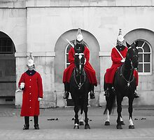 London Horse Guard by Jennis17