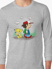 Pokemon Peanuts Long Sleeve T-Shirt