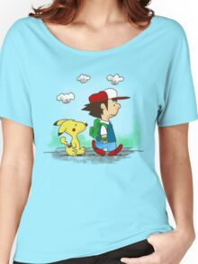 Pokemon Peanuts Women's Relaxed Fit T-Shirt