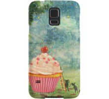 The Mice & The Cupcake Samsung Galaxy Case/Skin