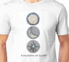 Kingdoms of Glory- Plan of Salvation Unisex T-Shirt