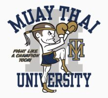 MUAY THAI UNIVERSITY One Piece - Long Sleeve