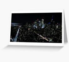 Toronto by Night Greeting Card