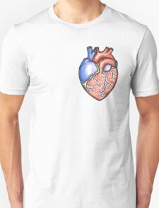 """Semi- anatomically correct Heart"" T-Shirt"
