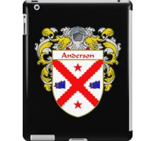 Anderson Coat of Arms/Family Crest iPad Case/Skin
