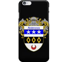 Andrews Coat of Arms/Family Crest iPhone Case/Skin