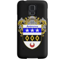 Andrews Coat of Arms/Family Crest Samsung Galaxy Case/Skin