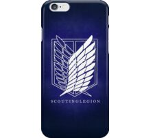 survey corps phone case iPhone Case/Skin