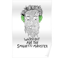 True Detective - Spaghetti Monster Poster