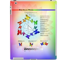 Butterfly Color Wheel iPad Case/Skin