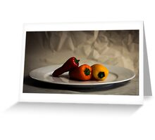 Trio of Spice Greeting Card
