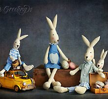 """Still Life #39 -  """" Easter Greetings """" by Malcolm Heberle"""