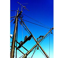 Skyward Rigging  Photographic Print