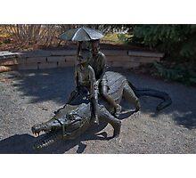 Crocodile Mile Photographic Print