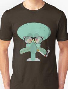 Hipster Squidward Unisex T-Shirt