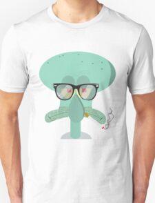 Hipster Squidward T-Shirt