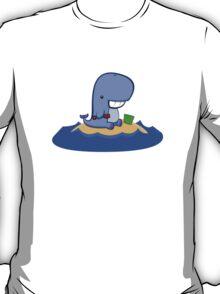 Whales love beaches T-Shirt