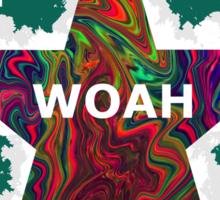 """""""woah"""" Sticker"""