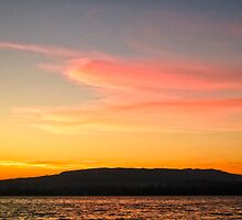 Lake Constance - Sunset by Evelyn Laeschke