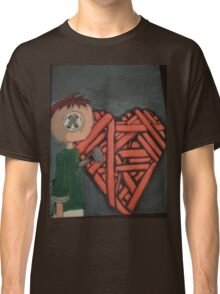 knitted heart Classic T-Shirt