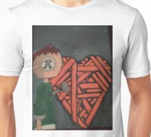 knitted heart Unisex T-Shirt