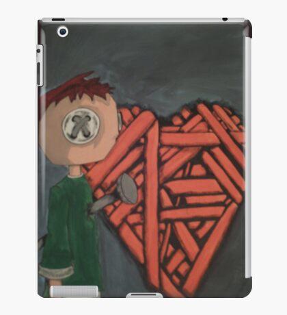 knitted heart iPad Case/Skin