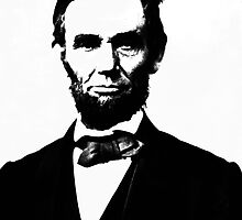 Abe Lincoln | The Wighte Collection by FreshThreadShop