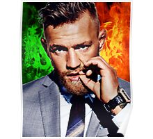 Conor McGregor - Irish FIRE Poster