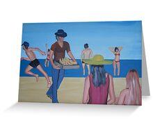 The beach of Maspalomas - Gran Canaria Greeting Card