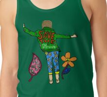 Save the Flowers Tank Top