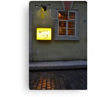 Bohemia Bagel Canvas Print