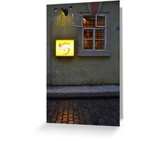 Bohemia Bagel Greeting Card