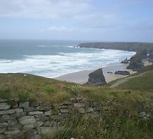 Cornwall, Bedruthan steps by Natalie2706