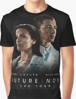DEMI LOVATO NICK JONAS Graphic T-Shirt