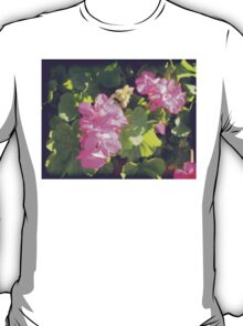 Vintage Flower Blossoms T-Shirt