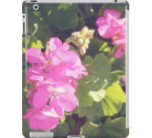 Vintage Flower Blossoms iPad Case/Skin
