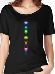 Fractal Art - Chakras - Energy Centers Women's Relaxed Fit T-Shirt
