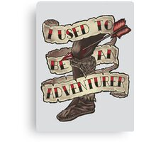 Adventurer Like You Canvas Print