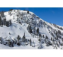Untracked Slopes Photographic Print