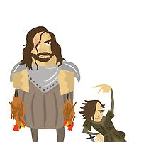 Fucking Chickens - Sandor & Arya by bridgetchill
