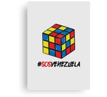 SOS Venezuela 2 Canvas Print