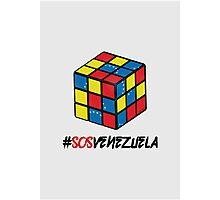 SOS Venezuela 2 Photographic Print