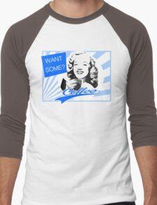 Want some Coffee? Men's Baseball ¾ T-Shirt