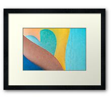 heart Framed Print