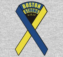 Boston Strong Ribbon by Paducah