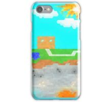 Minecraft Above & Below iPhone Case/Skin