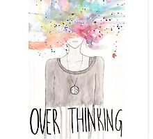 over thinking Photographic Print