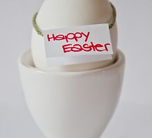 Happy Easter Egg by Denise Abé